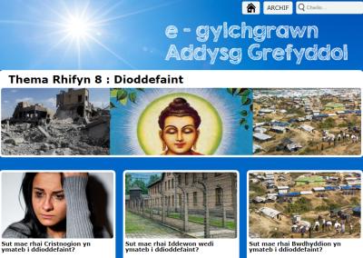 e-gylchgrawn Addysg Grefyddol