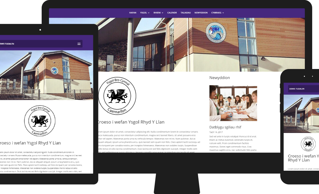 Designing creative websites for schools